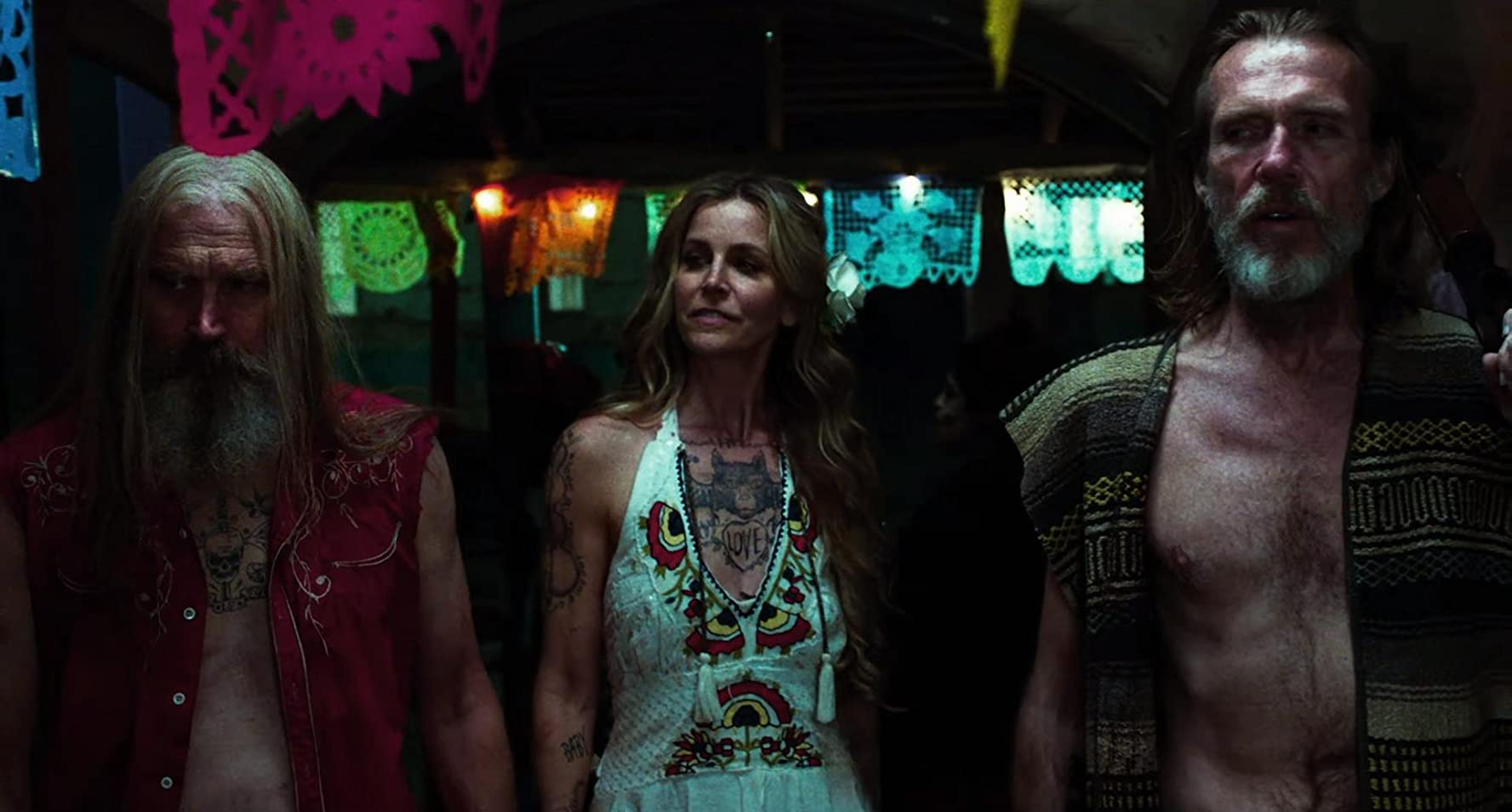 Richard Brake, Sheri Moon Zombie, and Bill Moseley in 3 from Hell (2019)