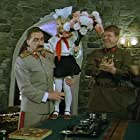 Mikhail Kokshenov and Andrey Myagkov in Na Deribasovskoy khoroshaya pogoda, ili Na Brayton-Bich opyat idut dozhdi (1993)