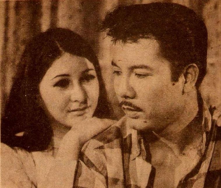 Rosanna Ortiz and Bernard Belleza in Ang kawatan (1969)