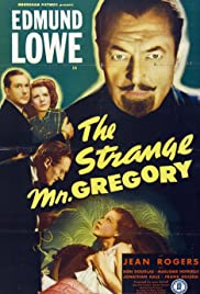 The Strange Mr. Gregory Poster