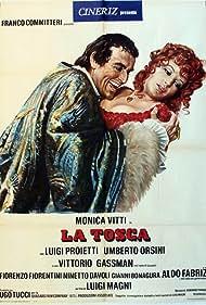 Vittorio Gassman and Monica Vitti in La Tosca (1973)