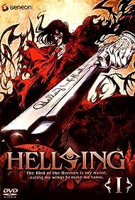 Crispin Freeman, Victoria Harwood, Jôji Nakata, and Katie Gray in Hellsing Ultimate (2006)
