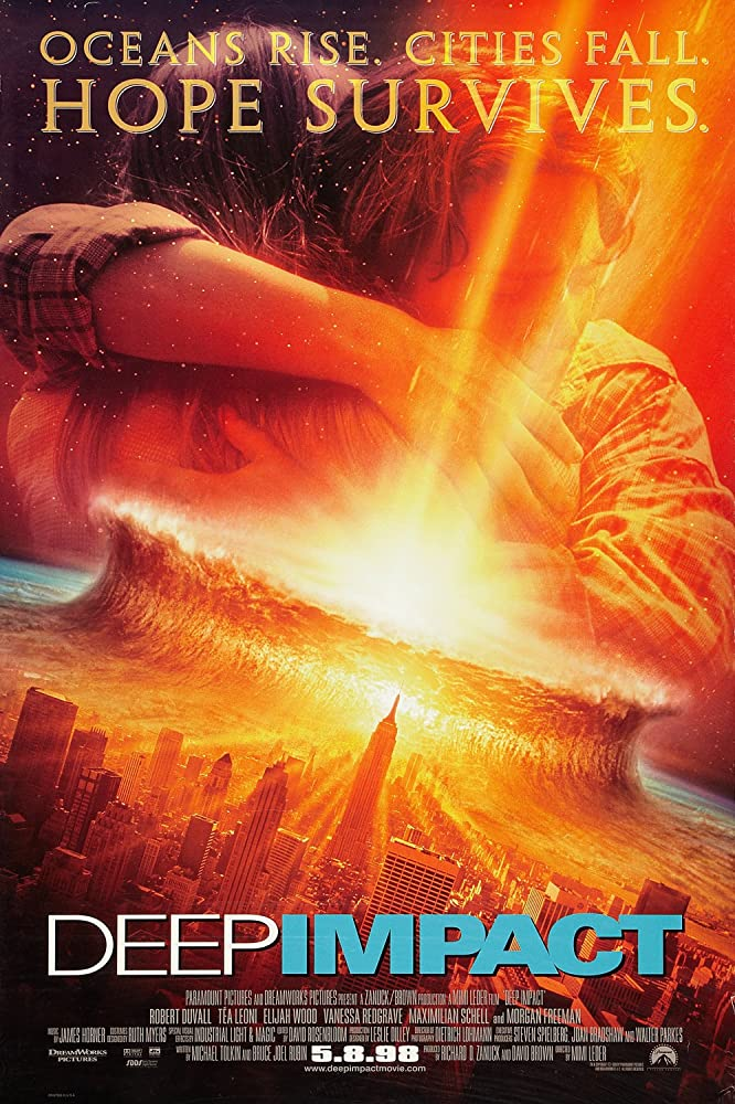 Poster Deep Impact (1998)