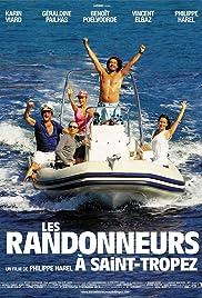 Les randonneurs à Saint-Tropez Poster