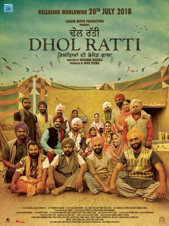 Dhol Ratti 2018 Punjabi Full Movie HDRip 350MB Download