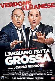 Antonio Albanese and Carlo Verdone in L'abbiamo fatta grossa (2016)