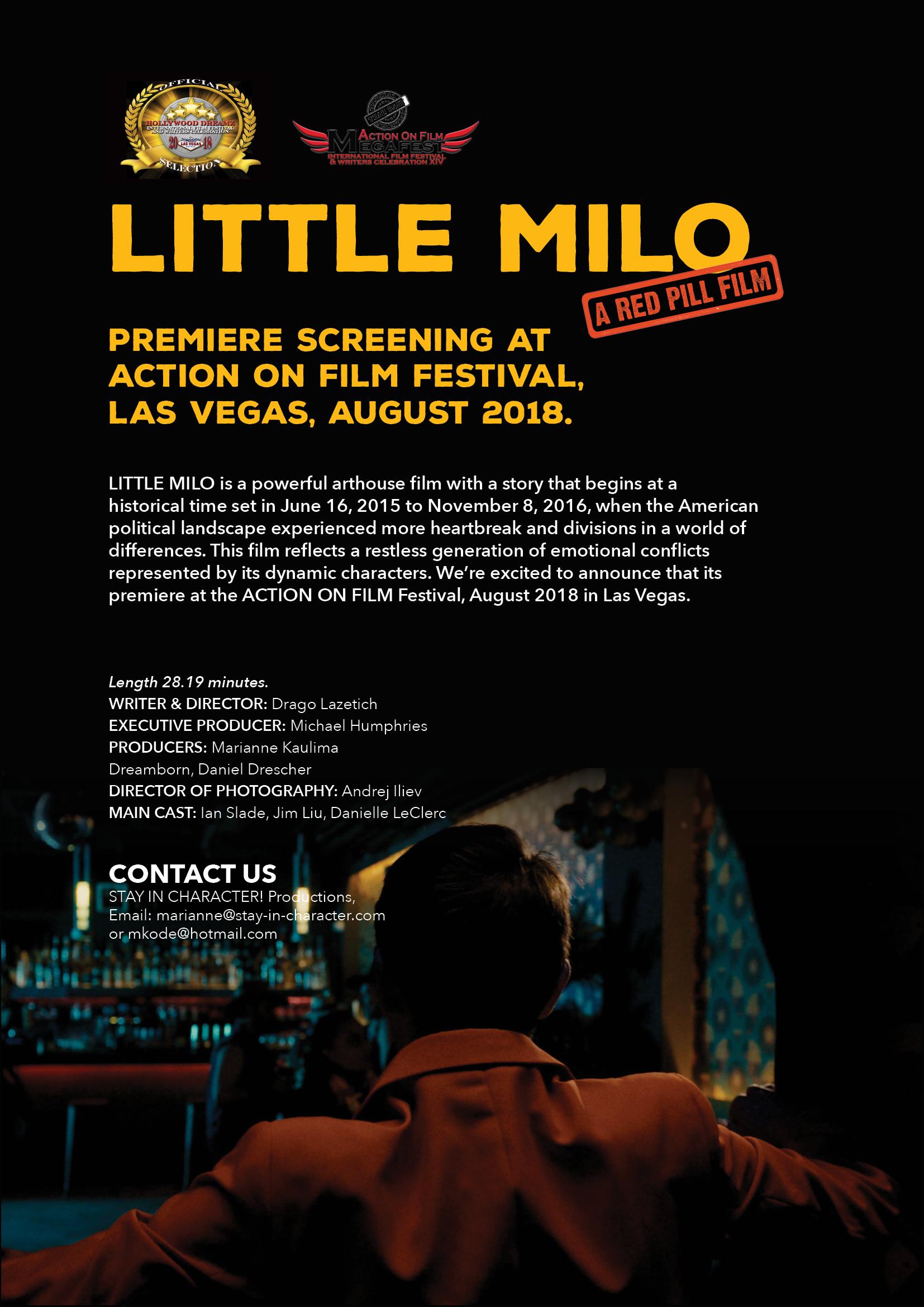 Little Milo (Video 2018) - Photo Gallery - IMDb