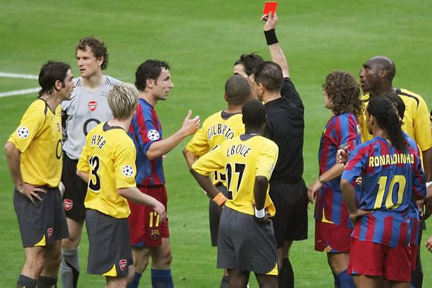 "2005-2006 UEFA Champions League"" Final FC Barcelona vs Arsenal FC ..."