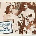 Gene Autry and Elena Verdugo in The Big Sombrero (1949)
