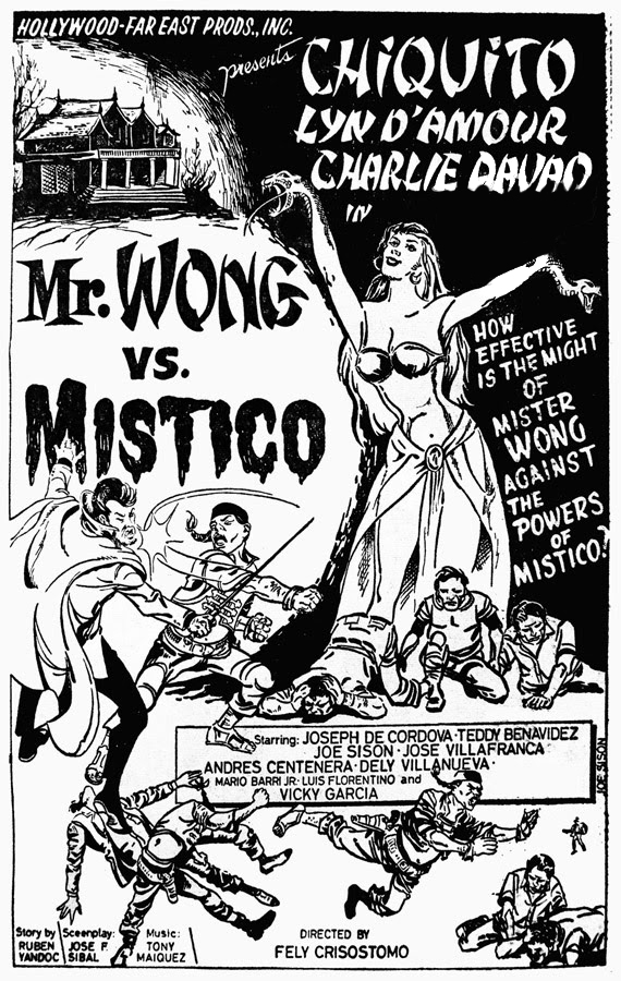 Mr. Wong vs. Mistico