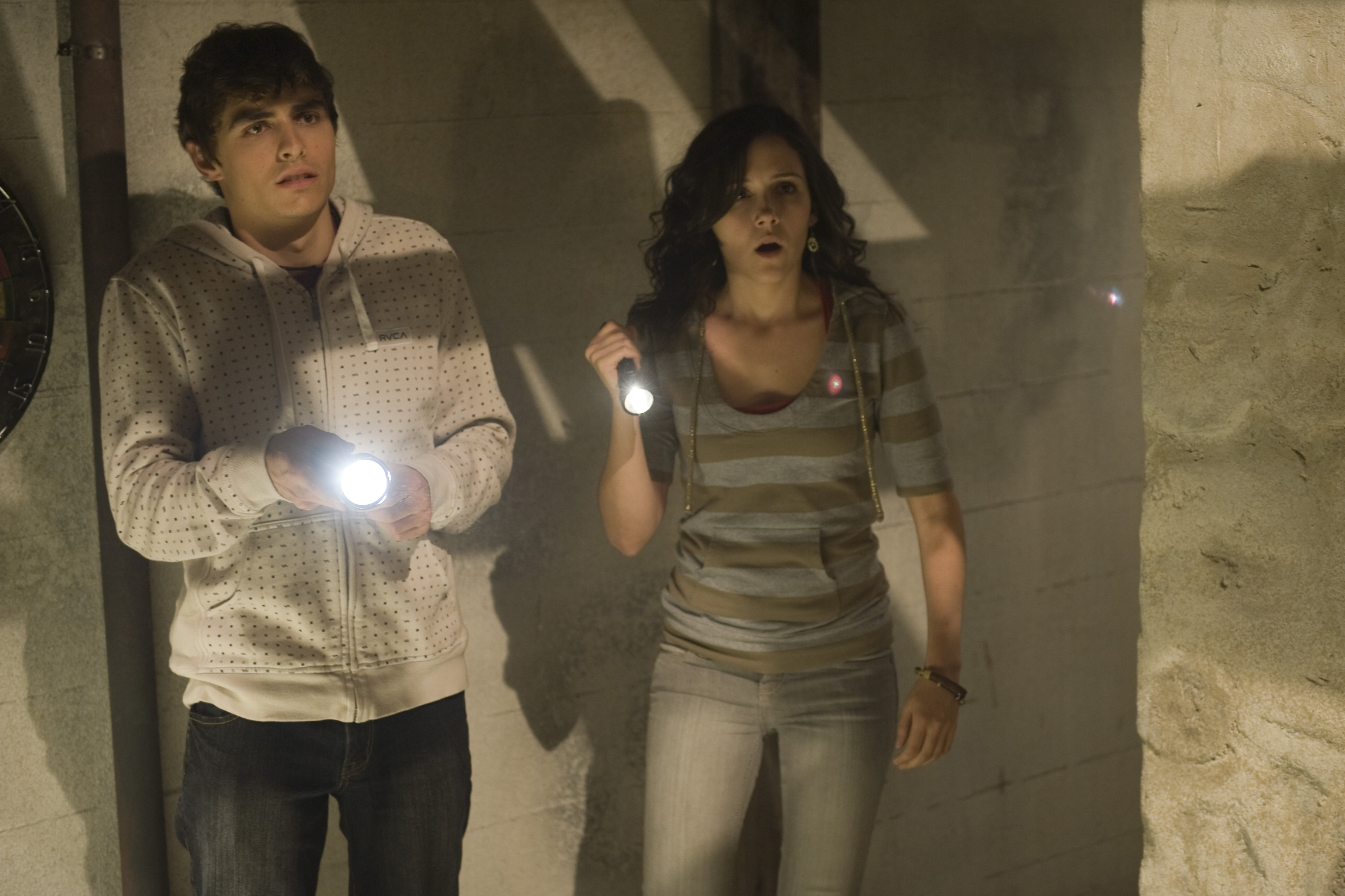 Shannon Woodward and Dave Franco in The Shortcut (2009)