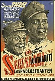 Serenaadiluutnantti Poster