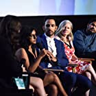 Jane Kelly Kosek, Amir Arison, Leena Pendharkar, and Daud Sani at an event for 20 Weeks (2017)