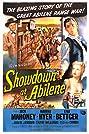 Showdown at Abilene (1956) Poster
