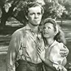 Dana Andrews and Anne Baxter in Swamp Water (1941)