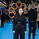Awkwafina at an event for Shang-Chi and the Legend of the Ten Rings (2021)