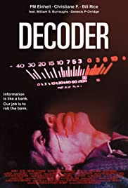 Decoder (1984) Poster - Movie Forum, Cast, Reviews