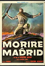To Die in Madrid Poster