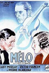 Pierre Blanchar, Victor Francen, and Gaby Morlay in Mélo (1932)