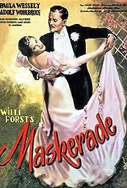 Masquerade in Vienna Poster