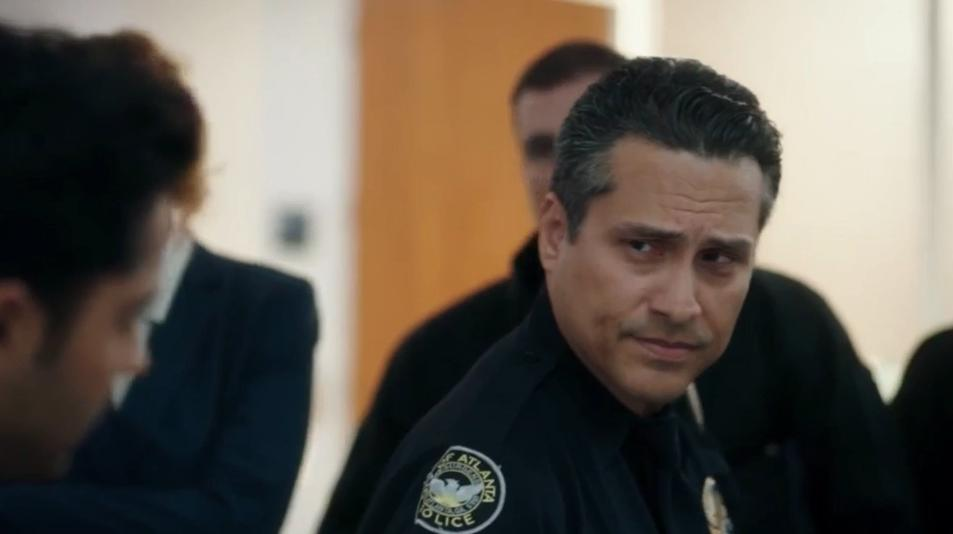 Demi Castro as Captain Alvaredo in The Resident e303.