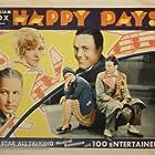 Frank Albertson, Stuart Erwin, Richard Keene, Martha Lee Sparks, and Marjorie White in Happy Days (1929)