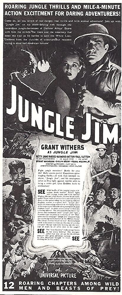 Jungle Jim  / Jungle Girl  (VOSTFR)