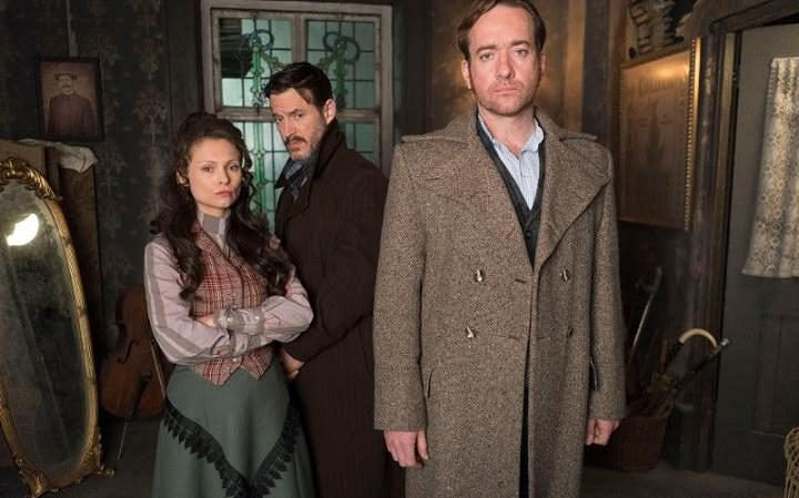 Matthew Macfadyen, Adam Rothenberg, and MyAnna Buring in Ripper Street (2012)