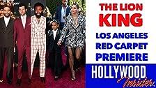 En el estreno de la alfombra roja - THE LION KING