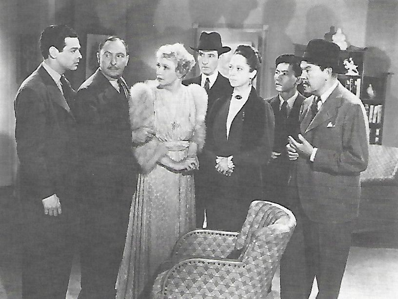 Lionel Atwill, Claire Du Brey, Robert Lowery, Charles Middleton, Sidney Toler, Cora Witherspoon, and Victor Sen Yung in Charlie Chan's Murder Cruise (1940)