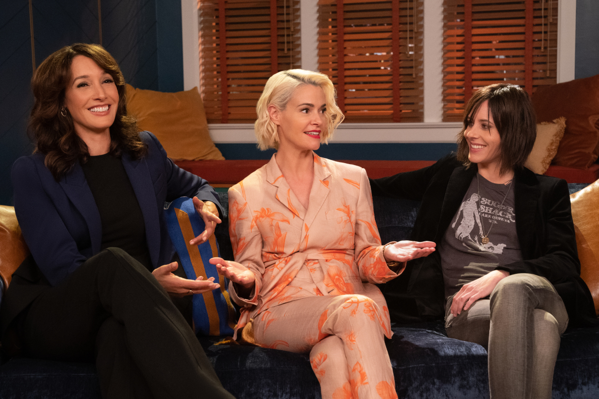 Jennifer Beals, Leisha Hailey, and Katherine Moennig in The L Word: Generation Q (2019)
