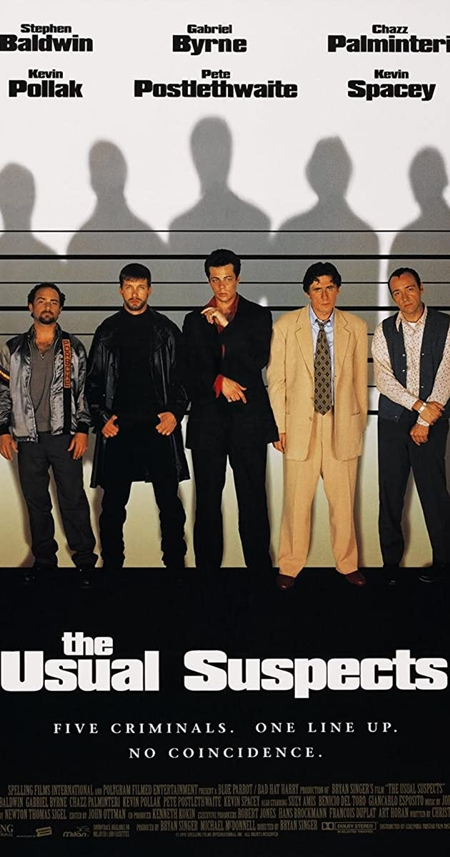 Watch Full HD Movie The Usual Suspects (1995)
