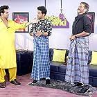 Anil Kapoor, Rajkummar Rao, and Sanket Bhosale in Baba Ki Chowki (2016)