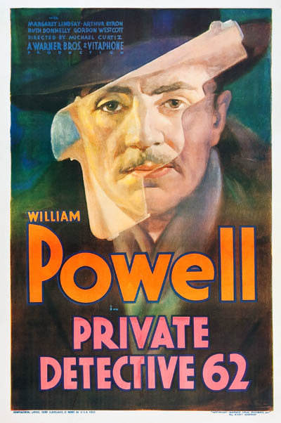 William Powell in Private Detective 62 (1933)