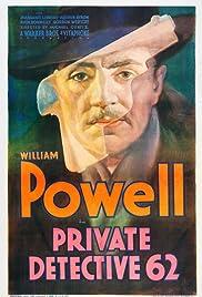 Private Detective 62 Poster