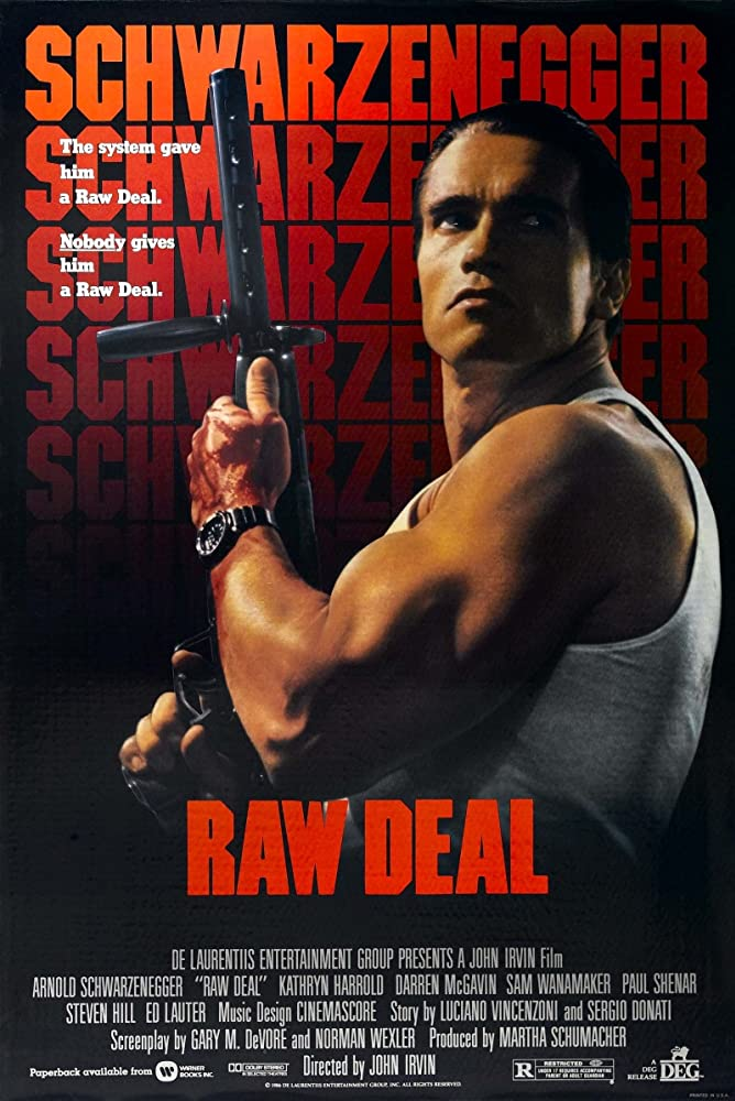 Raw Deal 1986 Hindi Dual Audio 390MB BluRay ESubs Download