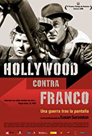 Hollywood contra Franco Poster