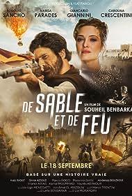 Rodolfo Sancho and Carolina Crescentini in De sable et de feu (2019)