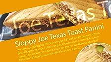 Descuidado Joe Texas Toast Panini