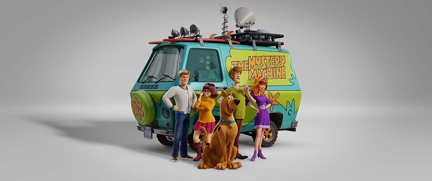 Will Forte, Frank Welker, Amanda Seyfried, Zac Efron, and Gina Rodriguez in Scoob (2020)