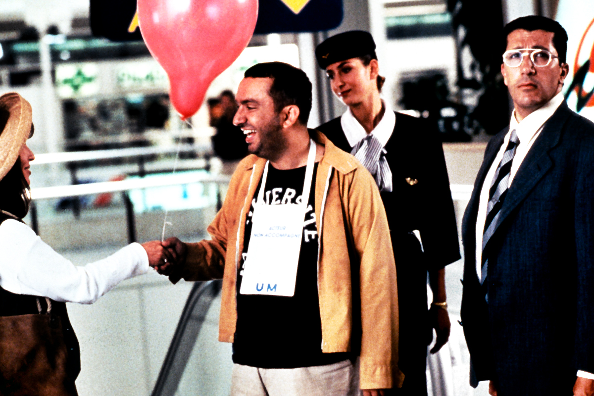 Alain Chabat and Dominique Farrugia in La cité de la peur (1994)