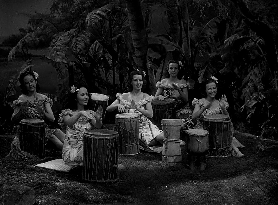 Lois Austin, Virginia Engels, Estelle Etterre, Gayle Mellott, and Sunnie O'Dea in In the Navy (1941)