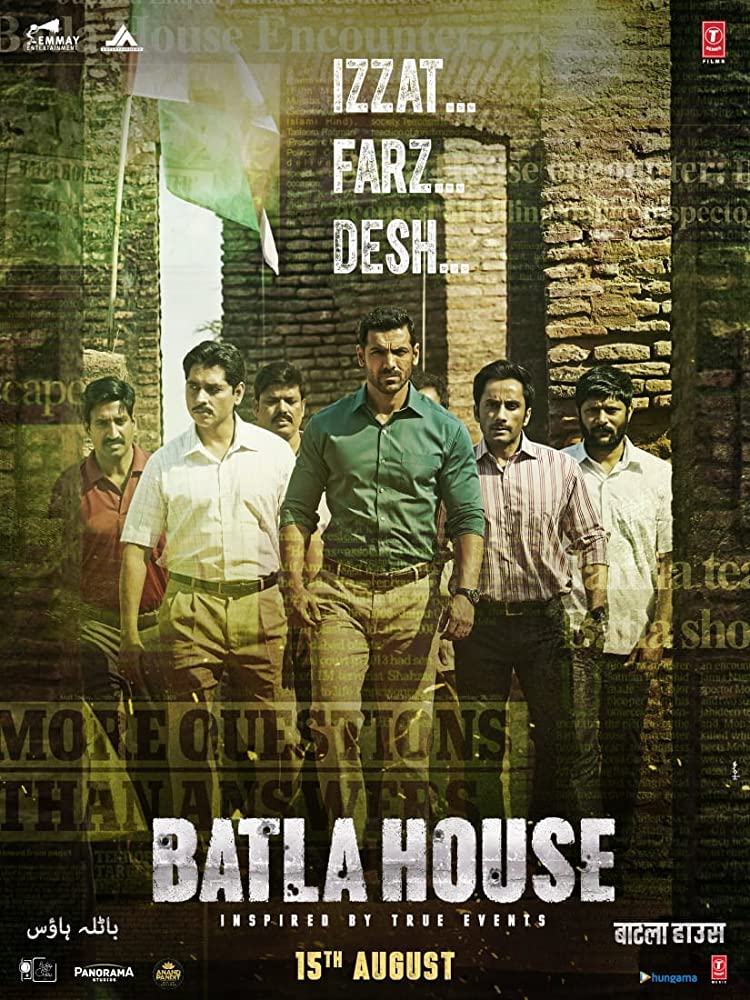 Batla House 2019 Hindi Movie 450MB pDVDRip Download