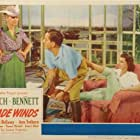Joan Bennett, Fredric March, and Ann Sothern in Trade Winds (1938)