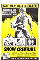 The Snow Creature (1954) Poster
