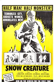 The Snow Creature Poster