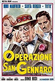 Senta Berger, Nino Manfredi, and Totò in Operazione San Gennaro (1966)