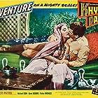 Dawn Addams and Richard Egan in Khyber Patrol (1954)