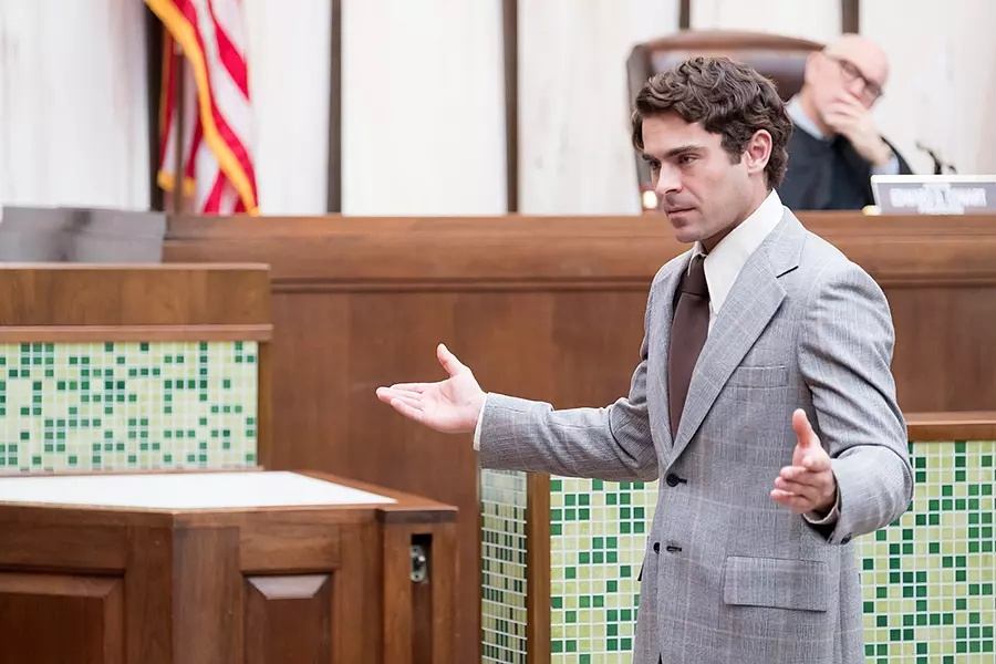 Zac Efron in Extremely Wicked, Shockingly Evil and Vile (2019)