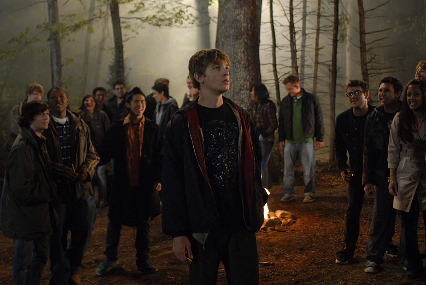 Denzel Whitaker, Jeremy Chu, Max Thieriot, and John Magaro in My Soul to Take (2010)